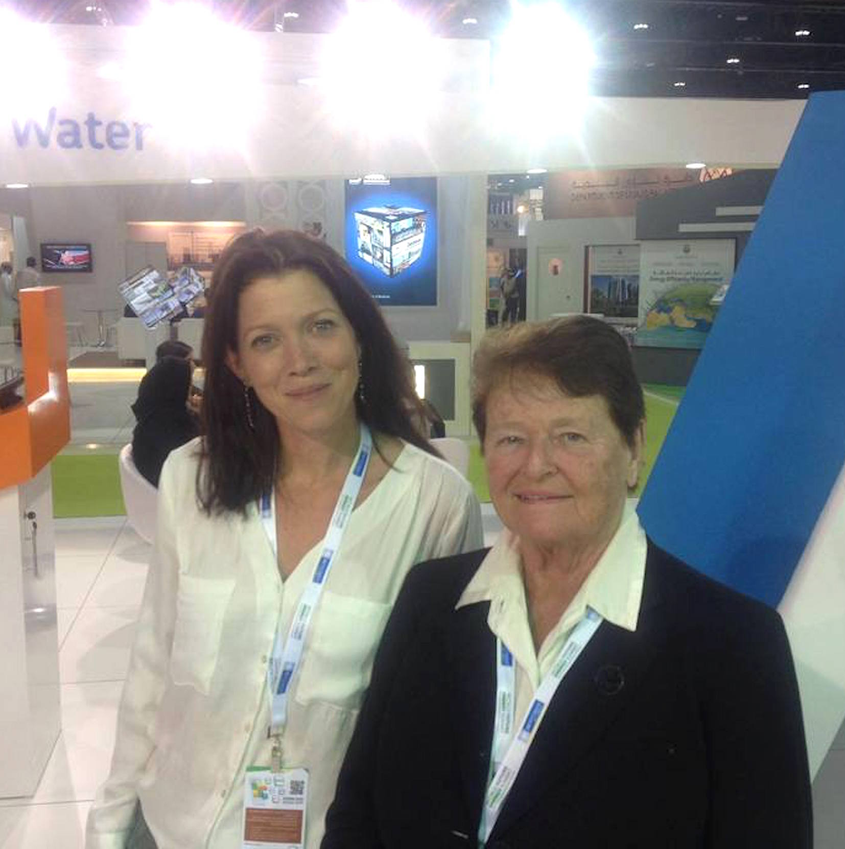 Miriam Mannak, sustainability writer and freelance journalist in South Africa, interviewed Gro Brundtland during the 2016 Abu Dhabi Sustainability Week