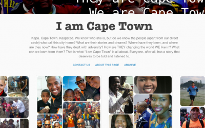 A brand new project: My 'I am Cape Town' blog!
